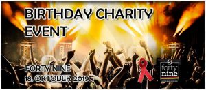 Tipp: Birthday Charity Event @ Queer Bar forty nine