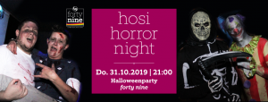 HOSI Horror Night @ Queer Bar forty nine