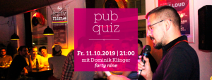 pub quiz @ Queer Bar forty nine