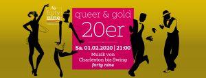 queer & gold 20er @ Queer Bar forty nine