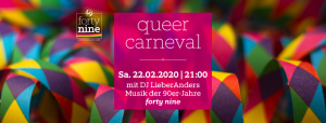queer carneval @ Queer Bar forty nine