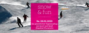 snow & fun @ Skigebiet Wurzeralm