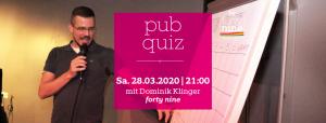 pub quiz - März 2020 @ Queer Bar forty nine