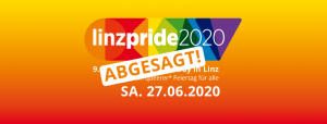 Abgesagt: Linzpride 2020 - Pride Parade @ Musiktheater Linz - Landstraße - Hauptplatz - AEC Maindeck