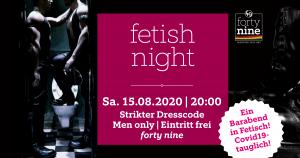 Fetish Night - Barabend in Fetisch @ Queer Bar forty nine | Linz | Oberösterreich | Österreich