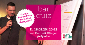 bar quiz - september @ Queer Bar forty nine