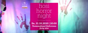hosi horror night @ Queer Bar forty nine